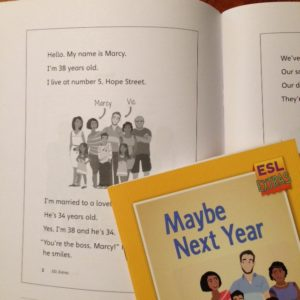 Pages of Maybe Next Year