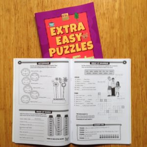 a page from Extra Easy Puzzles