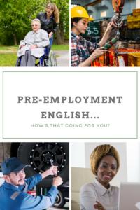 Pre-employment English