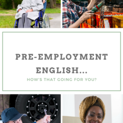 Pre-employment English