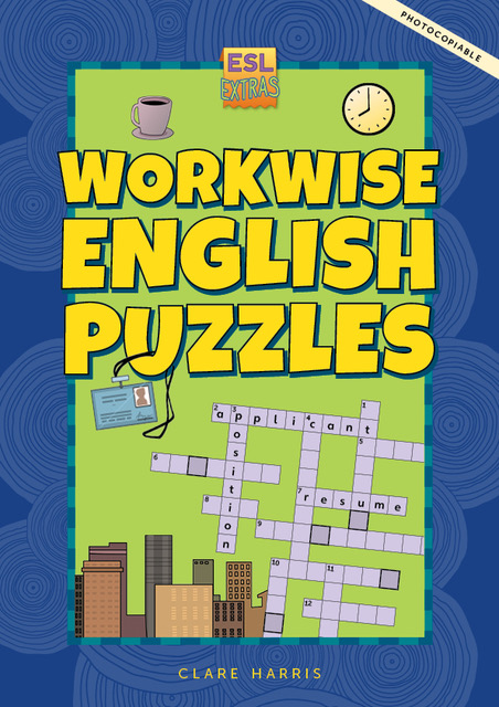 Workwise English Puzzles cover