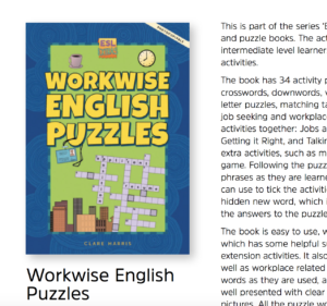 Workwise English Puzzles: a review